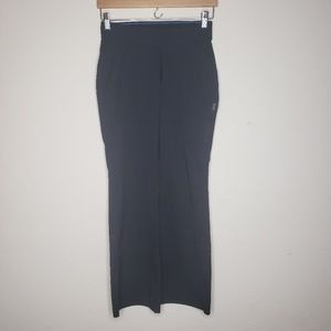 Columbia Black Flare Leg Fitness Pants